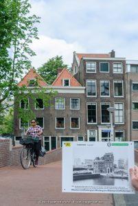 Afbeelding van de 3 oudste woonhuizen in Rotterdam Centrum