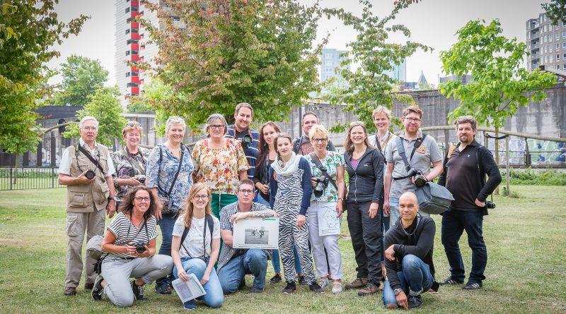 Groepsfoto Instameet Rottergram Stadsarchief Rotterdam