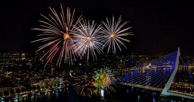 Vuurwerk tijdens Wereldhavendagen